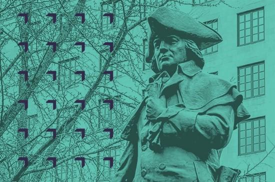 Robert Morris Statue, Independence National Park, Philadelphia, Pennsylvania